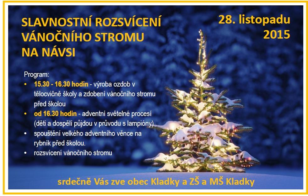 Vánoční strom 2015